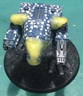 Legio Tempestus Warhound Titan WIP for Adeptus Titanicus