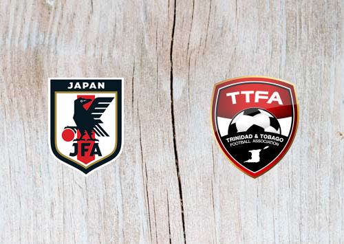 Japan vs Trinidad and Tobago - Highlights 5 June 2019