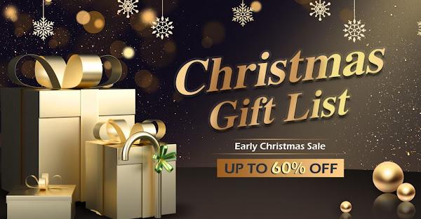 Precisas de decorações de Natal e prendas? Consulta esta promoção da Tomtop