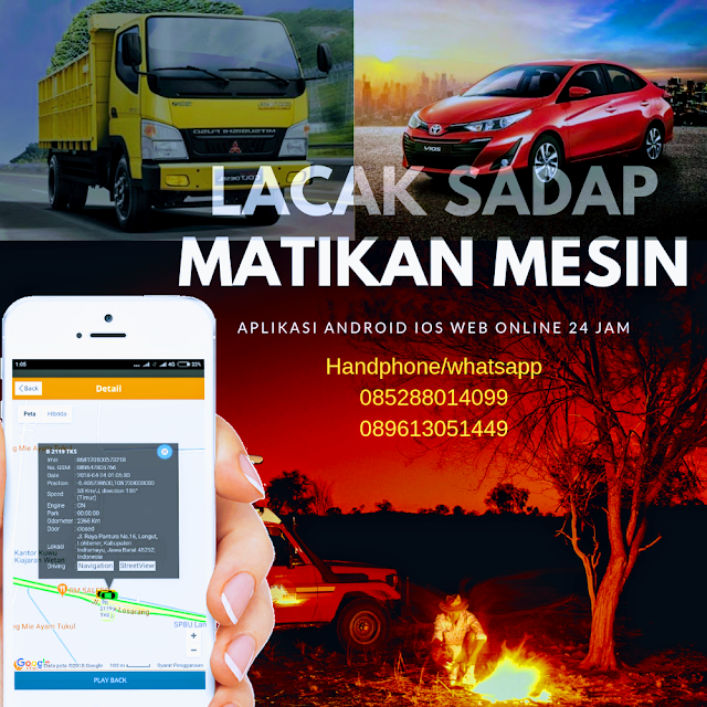 gps tracker ungaran jual pasang harga murah mobil motor truk bus alat berat