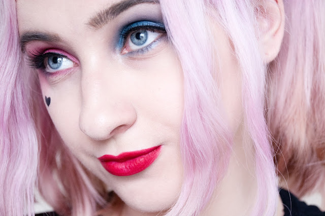Harley Quinn Makeup Look