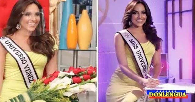 Lo que dijo la nueva Miss Venezuela tras ser Auto-Proclamada para el Miss Universo