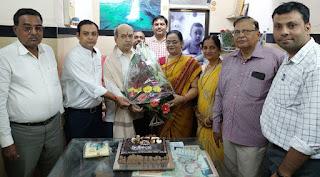 डॉ बाबुलाल सिंह का अभिनंदन समारोह संपन्न | #NayaSaberaNetwork
