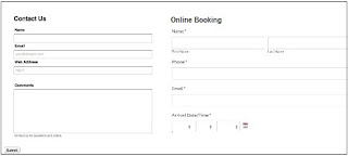 Create an online form on a website