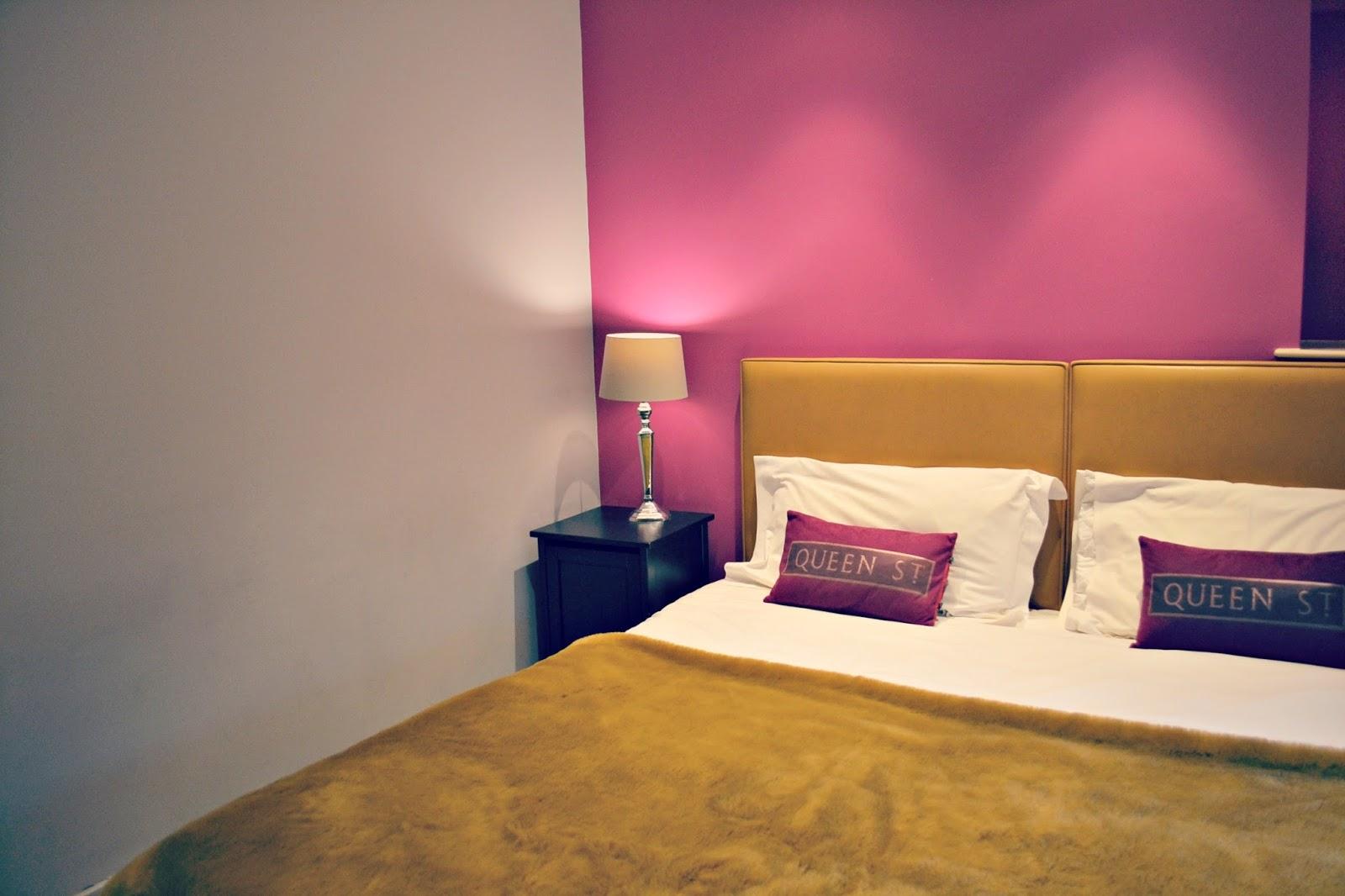 Harington House Bath UK hotel and spa room