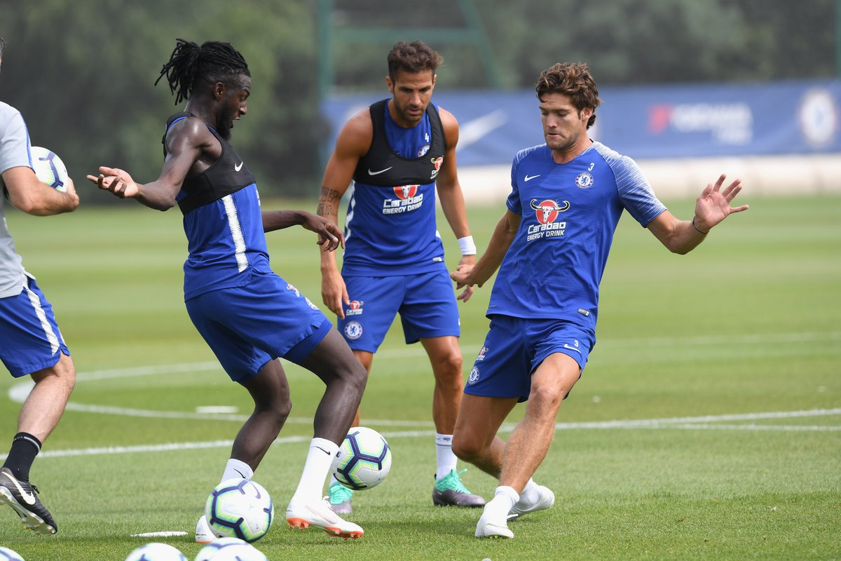Image result for chelsea training 2019