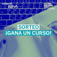 Promoción: Fundación BBVA en Perú Gana: Gana una beca por un curso virtual del Centro Cultural PUCP