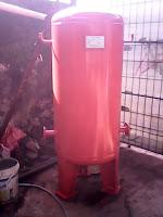 Air Receiver Tank, air reservoir tank, pressured tank, tangki udara