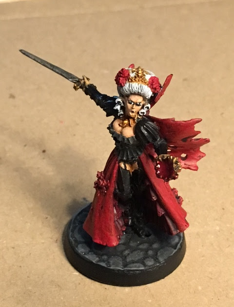 Isabella The Red Queen