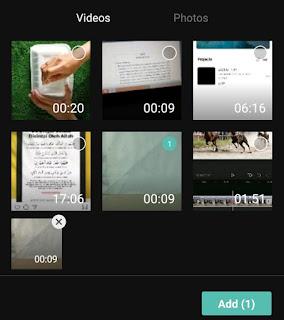 adding videos or photos