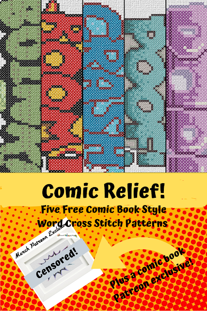 Comic Relief! Pop Comic Book Style Word Cross Stitch Pattern Free to Download, comic book cross stitch, comic book style cross stitch, comicbook cross stitch, comic book action word cross stitch pattern, comic book noise word cross stitch pattern, free comic book style cross stitch pattern, free comic book cross stitch, comic book speech bubble cross stitch pattern, cross stitch funny, subversive cross stitch, cross stitch home, cross stitch design, diy cross stitch, adult cross stitch, cross stitch patterns, cross stitch funny subversive, modern cross stitch, cross stitch art, inappropriate cross stitch, modern cross stitch, cross stitch, free cross stitch, free cross stitch design, free cross stitch designs to download, free cross stitch patterns to download, downloadable free cross stitch patterns, darmowy wzór haftu krzyżykowego, フリークロスステッチパターン, grátis padrão de ponto cruz, gratuito design de ponto de cruz, motif de point de croix gratuit, gratis kruissteek patroon, gratis borduurpatronen kruissteek downloaden, вышивка крестом