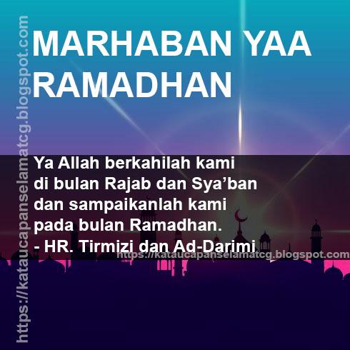 Ucapan Selamat Menunaikan Ibadah Puasa Ramadhan Dalam Kata Kata