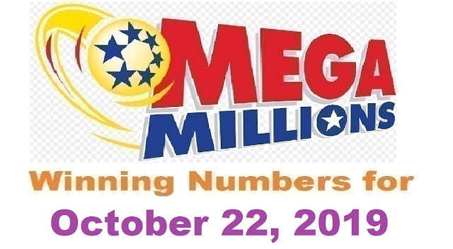 Mega Millions Winning Numbers for Tuesday, October 22, 2019