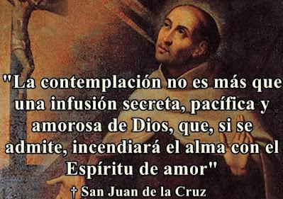 San Juan de la Cruz y la contemplacion