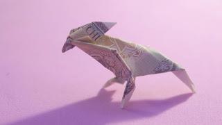 money origami eagle instructions gấp con đại bàng bằng tiền giấy