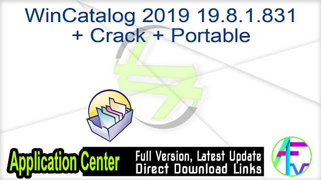 WinCatalog 2019 19.8.1.831 + Crack + Portable