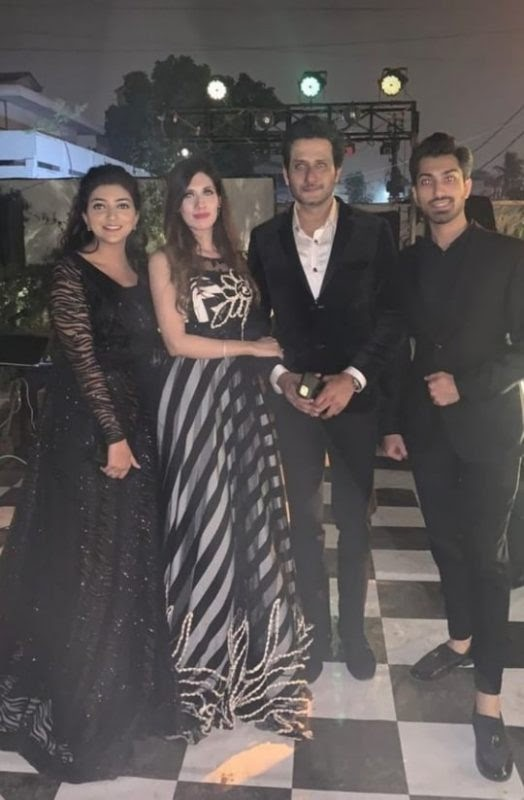 Nadia Khan and her Husband new pictures