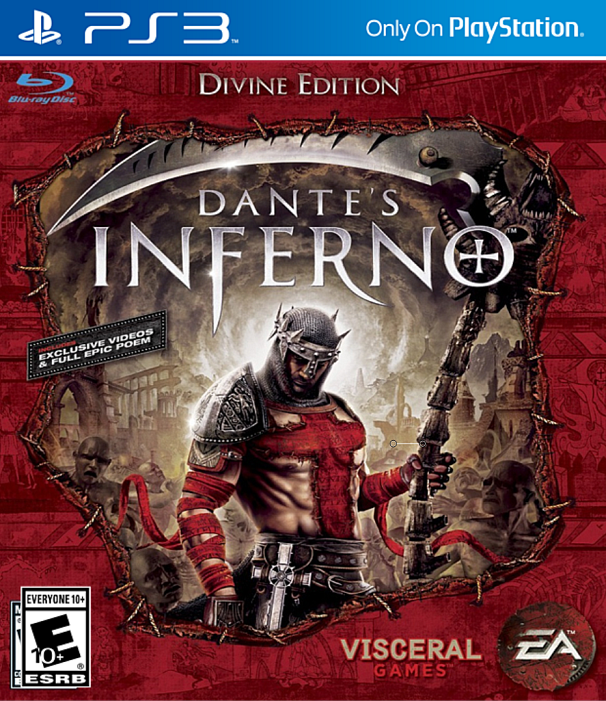 Dantes Inferno Divine Edition PS3 ISO