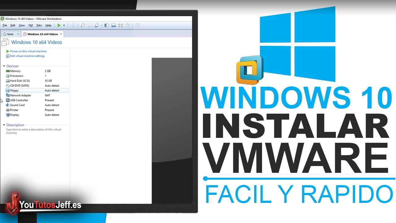 Como Instalar Windows 10 en VMware Workstation 14 - Instalar Windows 10