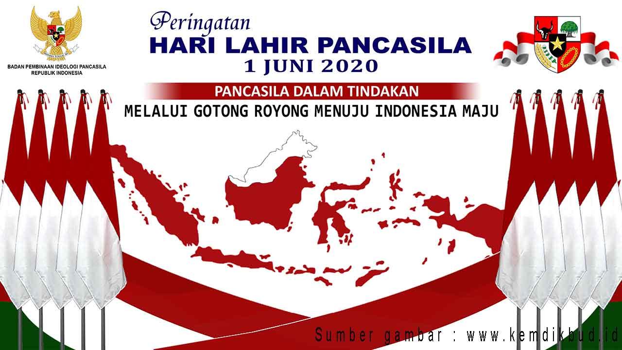banner hari lahir pancasila 2020