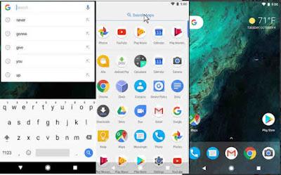 تطبيق Pixel Launcher