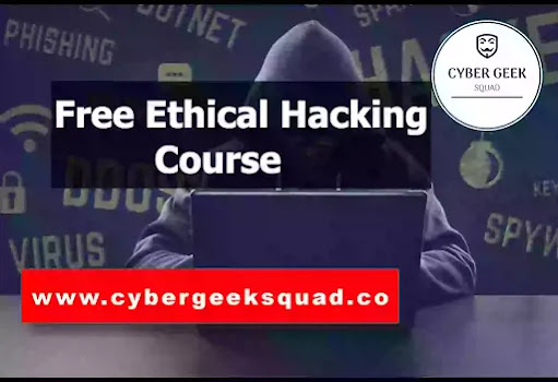 Ethical Hacking Online Course For Beginners