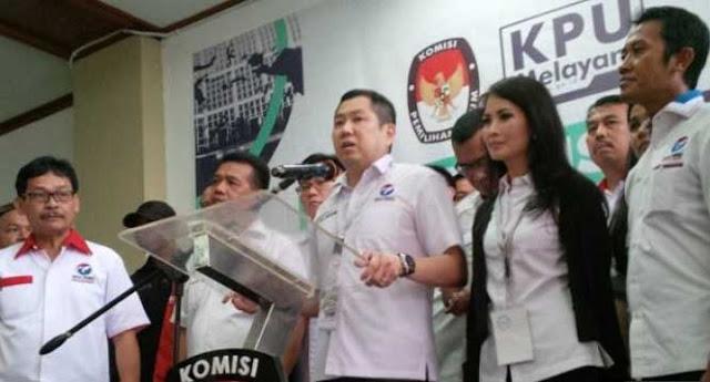 KPU Tolak Pendaftaran Partai Perindo jadi Peserta Pemilu 2019.Ini Sebabnya..