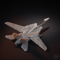 Hasbro Transformers x Top Gun Maverick Collab jet mode
