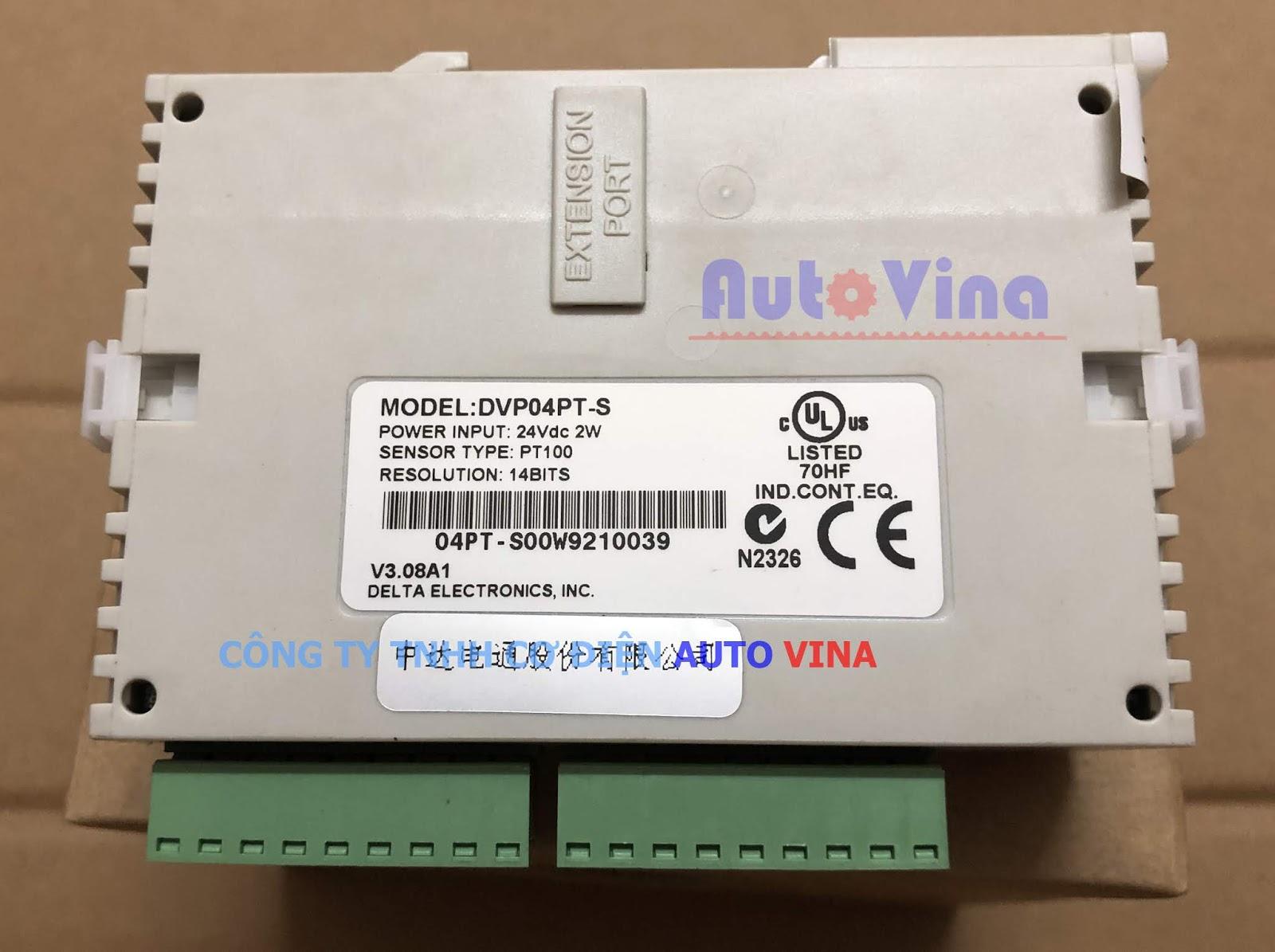 DVP04PT-S module 4 kênh nhiệt độ PT100 hàng có sẵn, đại lý bán hàng Delta tại Việt Nam