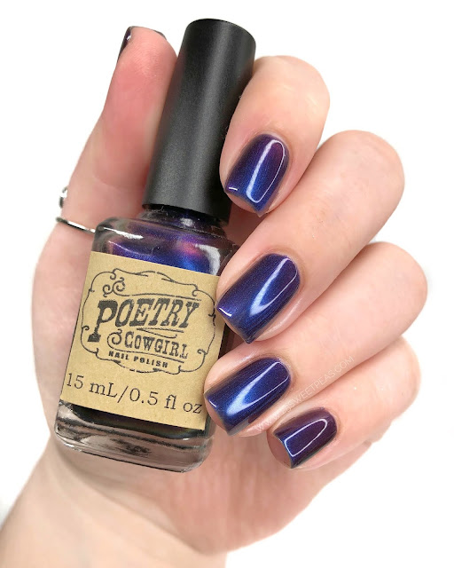 Poetry Cowgirl Nail Polish You Are Worthy 25 Sweetpeas