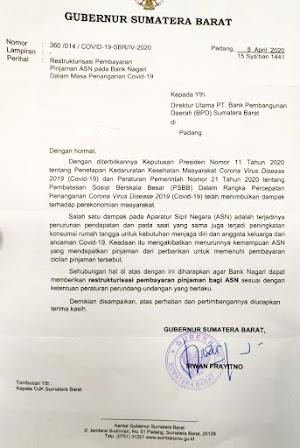 Restrukturisasi Pembayaran Pinjaman Pegawai Negeri Sipil Sumatera Barat