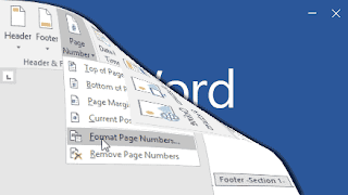 Cara Membuat Nomor Halaman Berbeda Dalam Dokumen Word 2016