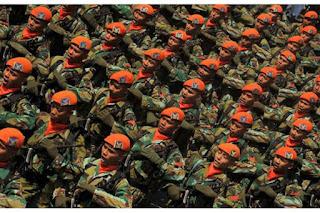 Setelah Kopassus Presiden Lakukan Kunjungan ke Markas Paskhas - Commando