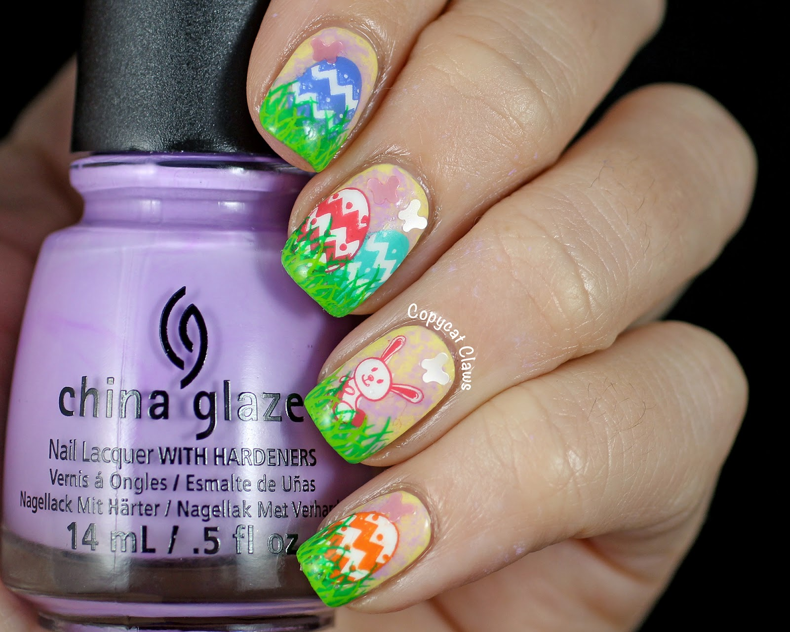 Copycat Claws: Easter Nail Art Challenge