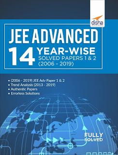 Disha JEE Advanced 14 Year-wise Solved Paper 1&2 [PDF]