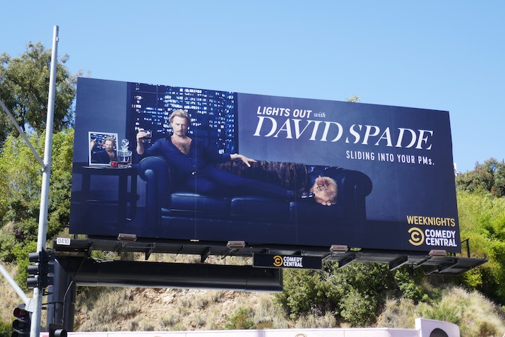 Lights Out with David Spade season 1 billboard