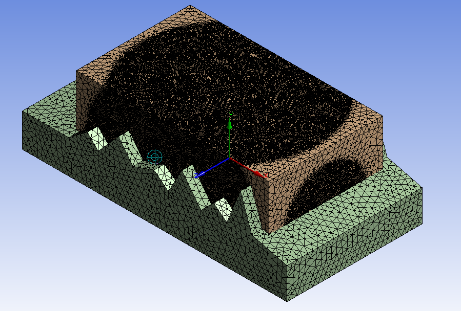 Sphere of influence in ansys