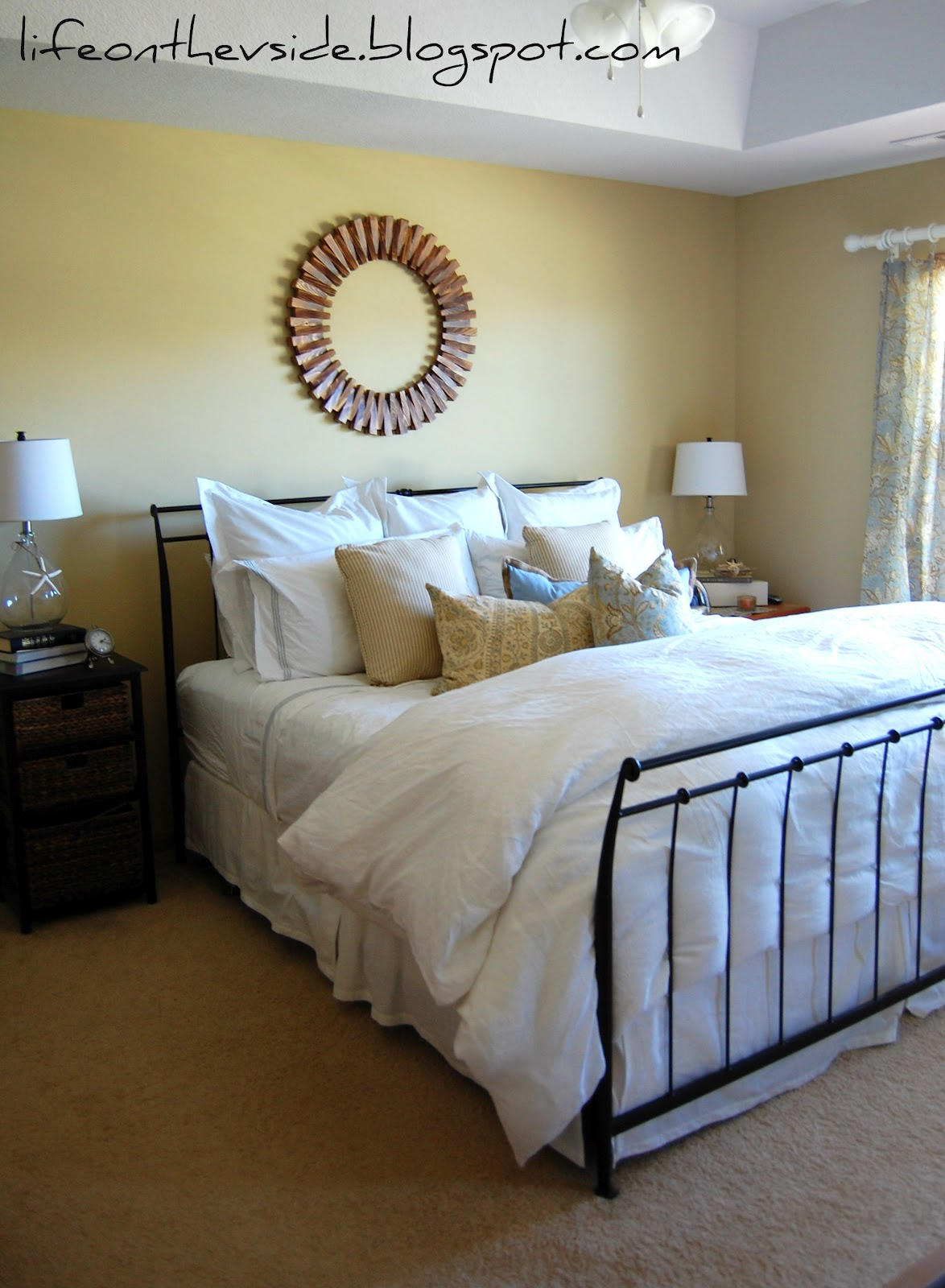 On The V Side: Look Ma, No Paint! [Master Bedroom Makeover]