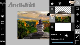Cara merubah background foto menggunakan picsart android
