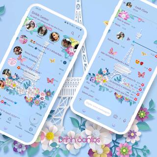 Paris Tower Theme For YOWhatsApp & Fouad WhatsApp By Driih Santos