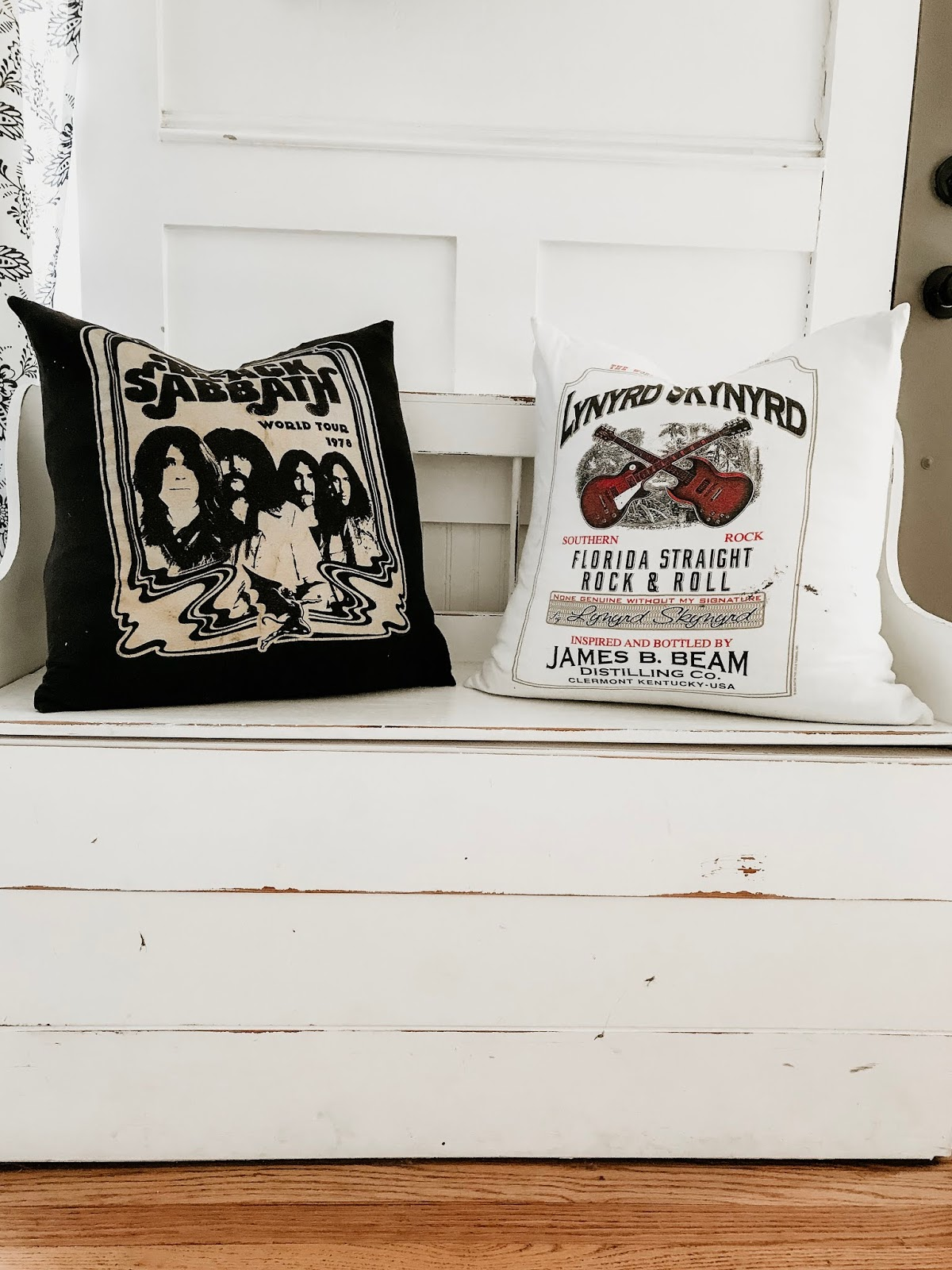 throw pillow out of a t shirt