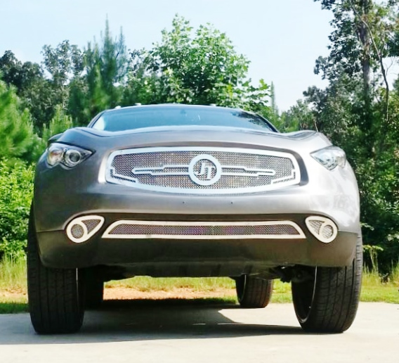 """Ace-1: JT's Infiniti FX On 30"""" DUB Floaters New Exclusive"""