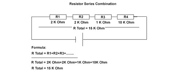 series combination of resistor