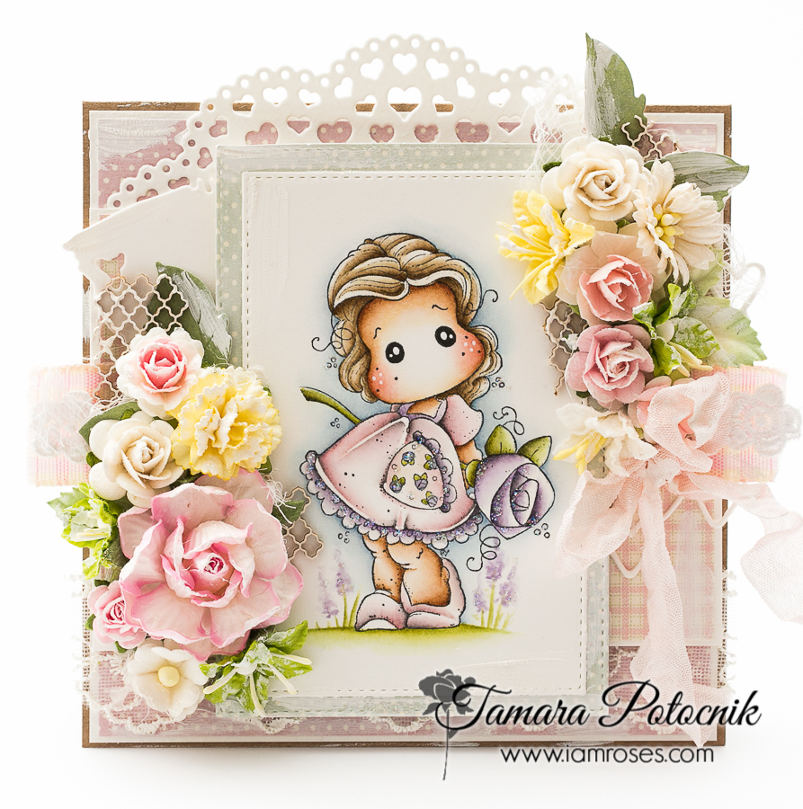 Handmade By Tamara Tilda With Big Big Rose I Am Roses