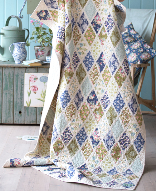 Pardon My Garden Quilt - Free Pattern