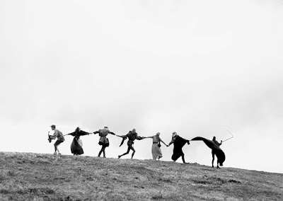 "Dance of Death Danse Macabre at the end of ""The Seventh Seal"""