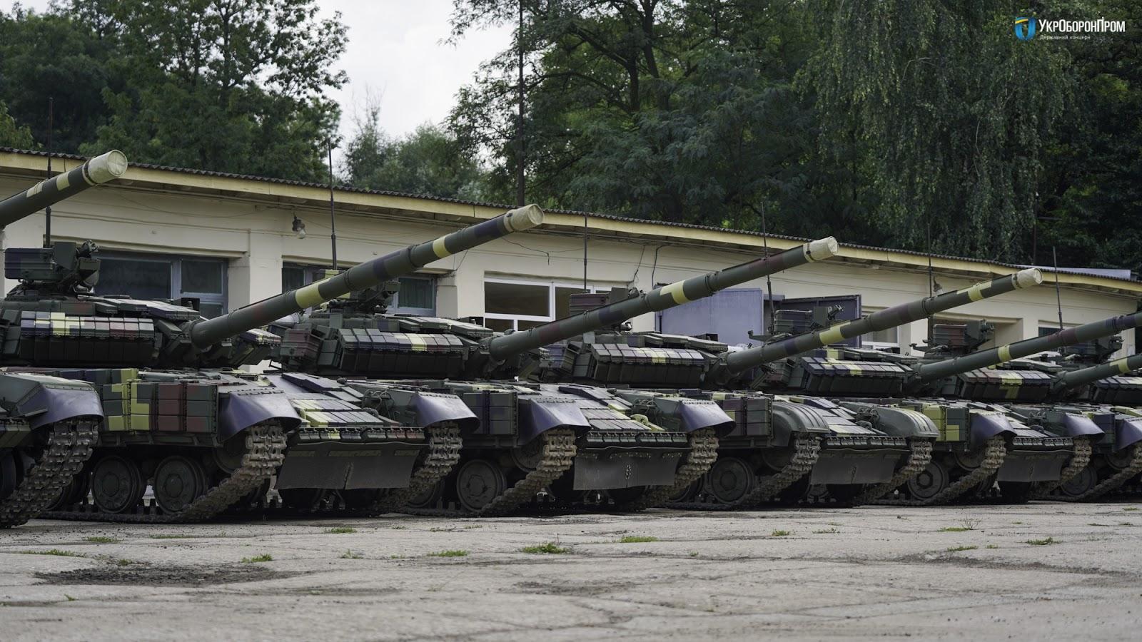 ЛБТЗ налагодив серійну модернізацію Т-64 зр. 2017р.