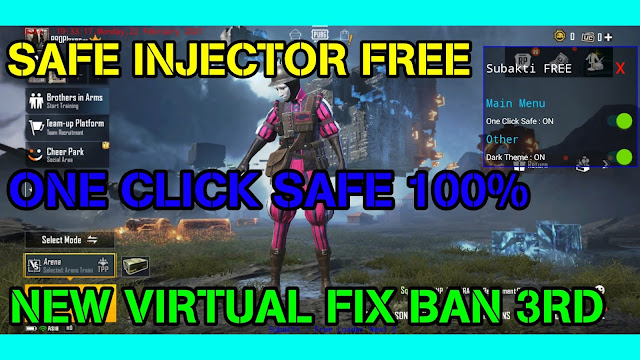 MOD INJECTOR PUBG MOBILE 1.2 ONE CLICK SAFE ANTIBAN 100% BY Subakti GaminG • HQT Channel
