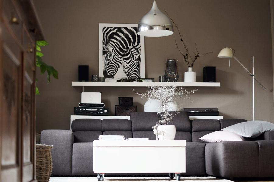 Blog + Fotografie by it's me! - Kooperation Posters - Print Zebras, Ikea Wandregal Lack, Deko