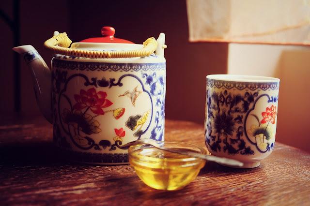 miel au thé, miel au thé vert, thé au miel
